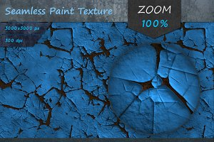 Peeling Paint Seamless HD Texture