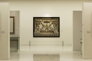 Antique Art Gallery Concept