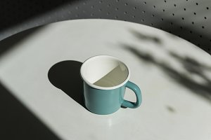 Design space on coffee cup