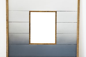 Design space  wooden frame (PNG)