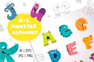 A-Z Monster Alphabet