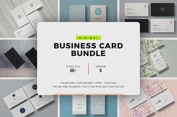 Business Card Prime Bundle-Graphicriver中文最全的素材分享平台
