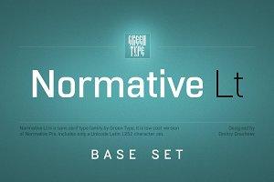 Normative Lt – 4 fonts