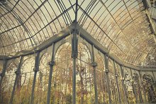 Famous Crystal Palace in Madrid