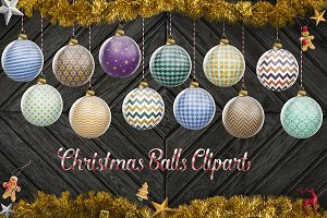 Glitter Christmas Baubles