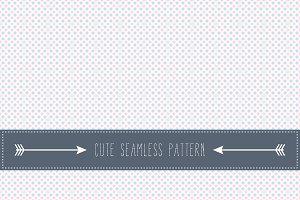 Simple retro seamless pattern