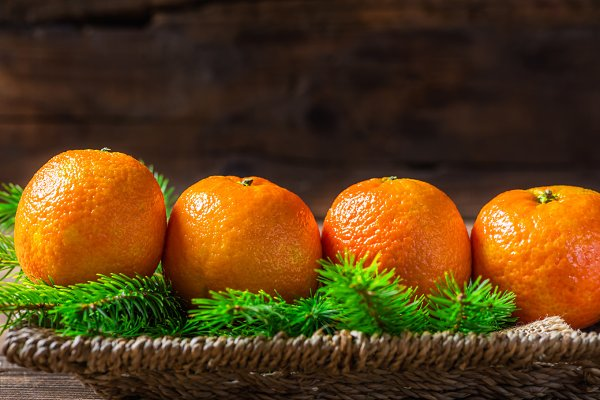 Fresh Clementines or Tangerines and…