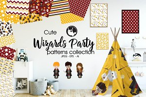 WIZARDS PARTY Pattern collection