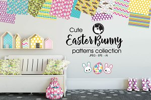 EASTER BUNNY Pattern collection