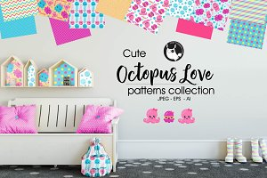 OCTOPUS LOVE Pattern collection