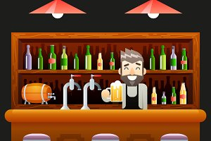 Barkeeper Pub Bar