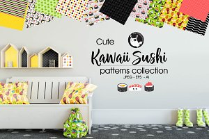 KAWAII SUSHI Pattern collection