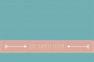 Retro fine polka dot pattern