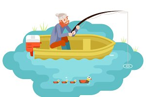 Fishing Adult Fisherman