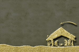 Christmas Nativity Scene greetings