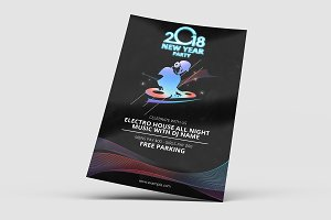 New Year Party Flyer V672