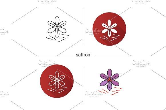 Saffron icon
