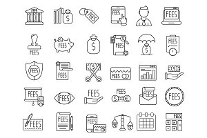 Business Related Icon Pack