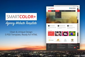 SmartColor Agency Website