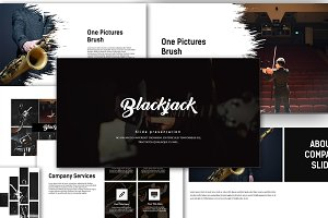 Blackjack Creative Powerpoint