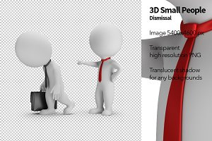3D Small People - Dismissal