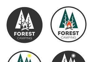 Logo Forest camping
