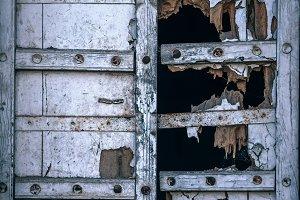 Broken Wooden Door