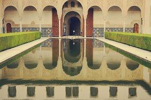 Palacio Nazari, Alhambra, Granada,