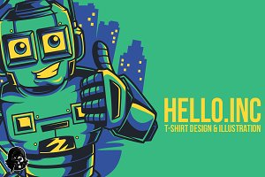 Hello.Inc Illustration
