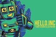 Hello.Inc Illustration