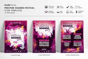 Prestige Sounds Festival Flyer