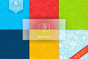 Diagram Analytics Line Tile Patterns