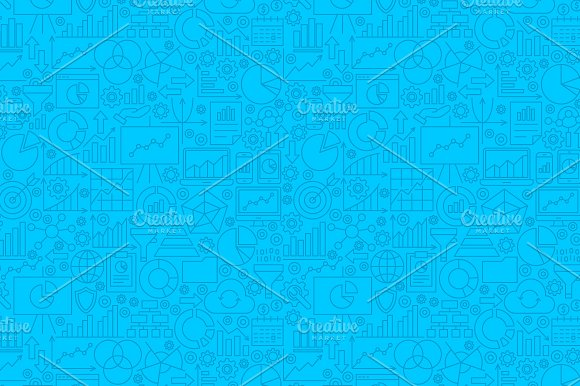 Diagram Analytics Line Tile Patterns in Graphics - product preview 1