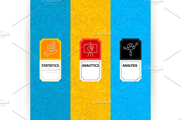 Diagram Analytics Line Tile Patterns in Graphics - product preview 3