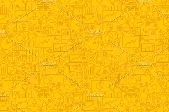 Diagram Analytics Line Tile Patterns in Graphics - product preview 8