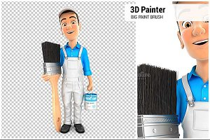 3D Painter Big Paint Brush