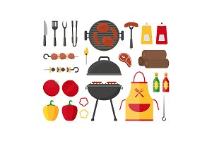 Barbecue and Grill Set.