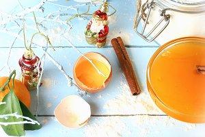 cover cookbook broken egg all for baking
