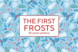 The First Frosts patterns -45% OFF