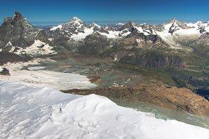 View of Matterhorn from Breithorn