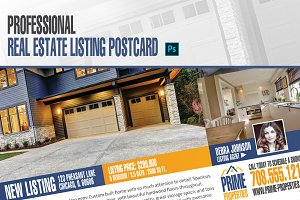 Real Estate Listing Postcard