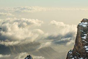 The mountains of La Palma.