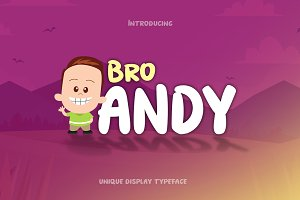 Bro Andy Font