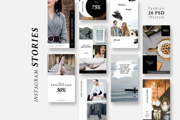 Instagram Stories-Lifestyle&Fashion