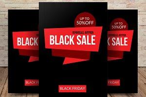 Black Friday Sale Flyer