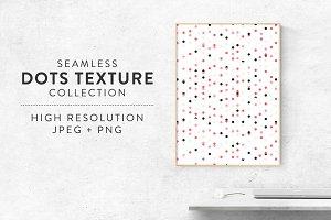 Seamless Dots Confetti Background