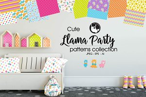 LLAMA PARTY Pattern collection