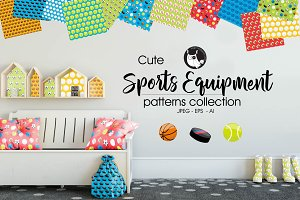 SPORTS EQUIPMENT Pattern collection