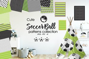 SOCCER BALL Pattern collection