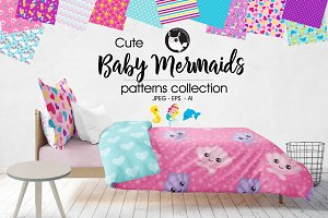 BABY MERMAIDS Pattern collection
